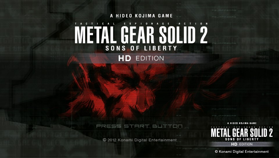 METAL GEAR SOLID 2 SONS OF LIBERTY HD EDITION