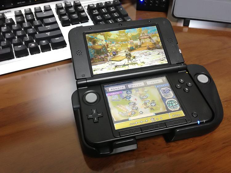 3DSLL用の拡張スライドパッドを購入