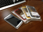 Galaxy S4 Case Neo Hybrid のバンパーが届いた。