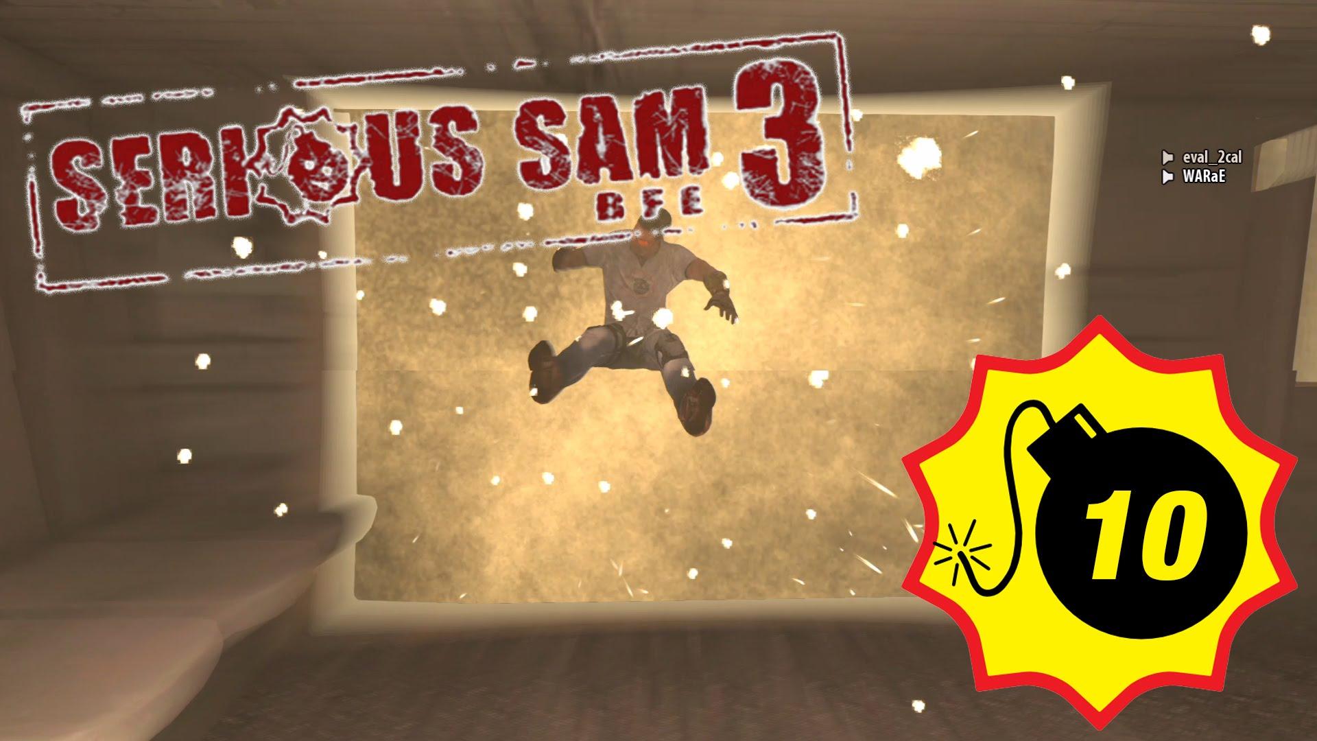 【PC版】Serious Sam 3: BFE #10【週末一気プレイ】