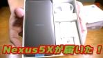 【Googleストア版】Nexus5Xが届いた!【Android】