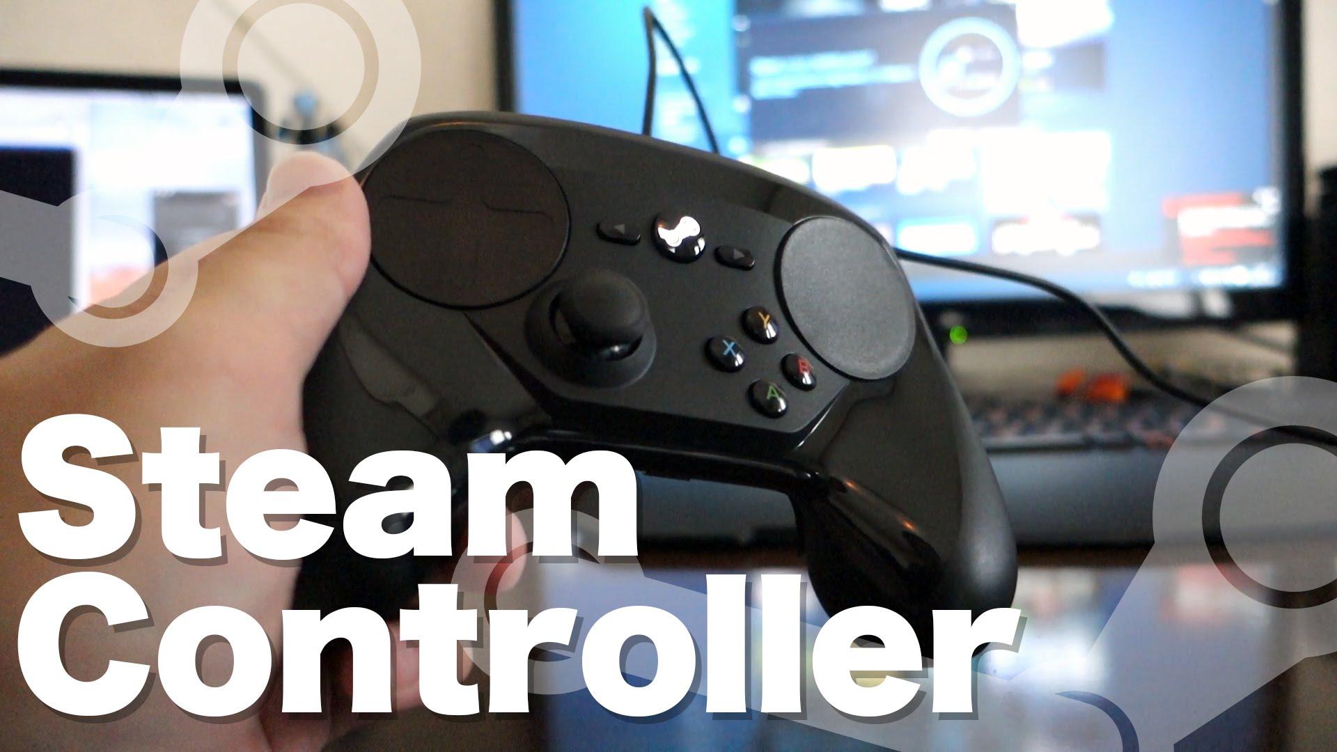 「Steamコントローラー」開封&動作確認