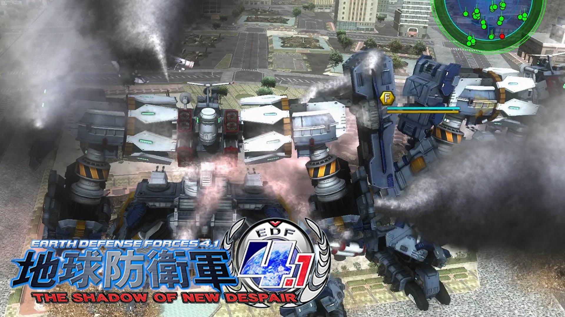 #06 [PC版] 地球防衛軍4.1 THE SHADOW OF NEW DESPAIR:EDF4.1 「地球は我々人類、自らの手で守りぬかなければならないんだ!」