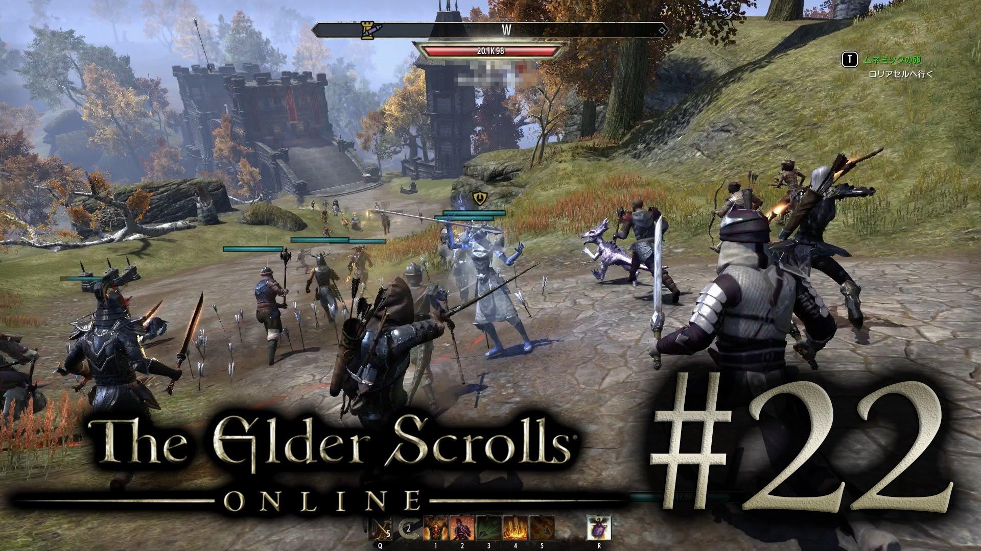 #22 The Elder Scrolls Online [エルダー・スクロールズ・オンライン]