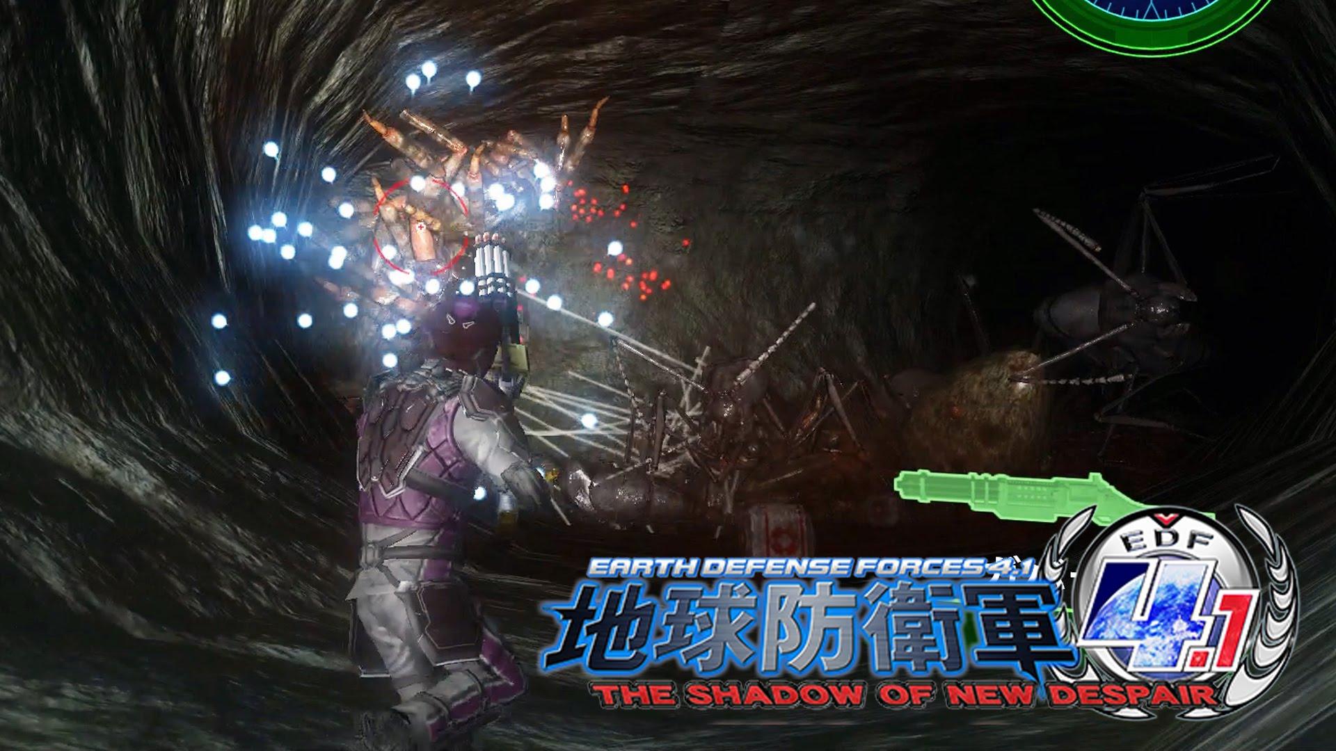 #11 [PC版] 地球防衛軍4.1 THE SHADOW OF NEW DESPAIR:EDF4.1 「地球は我々人類、自らの手で守りぬかなければならないんだ!」
