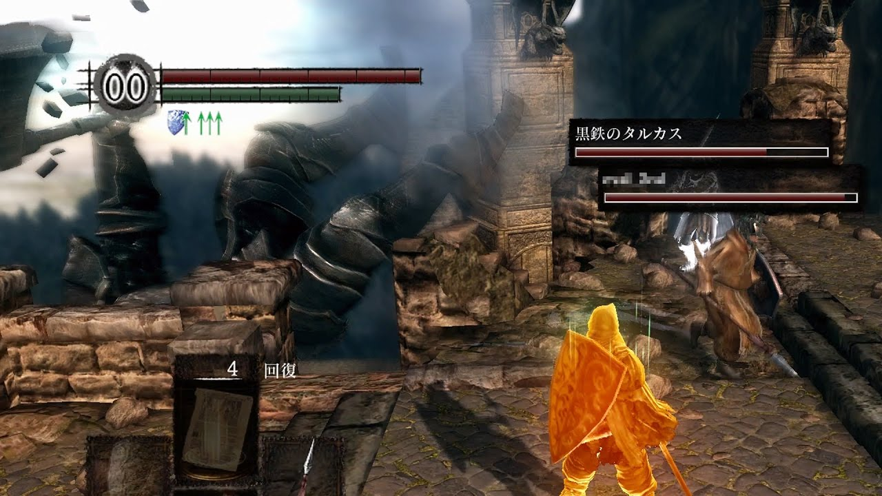 【PC版】転落死するアイアンゴーレム【DARK SOULS with ARTORIAS OF THE ABYSS EDITION】